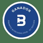 Ganadora Bitácoras 2016