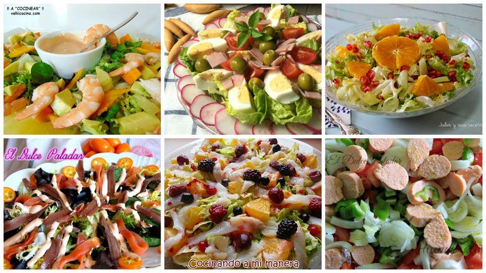 Recetas de ensaladas para días de fiesta (2)