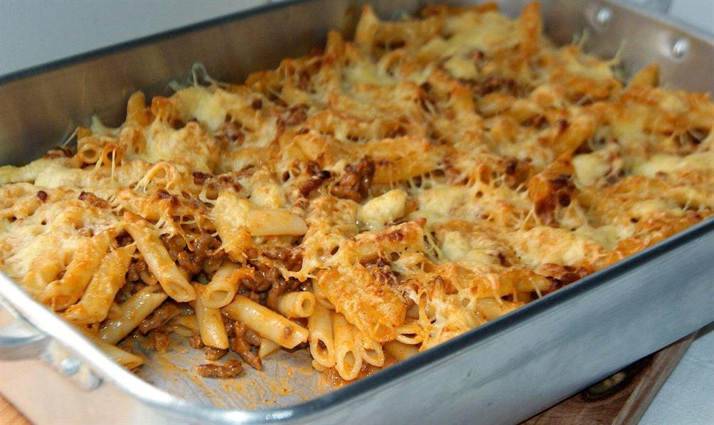 Macarrones gratinados anna recetas f ciles - Macarrones con verduras al horno ...
