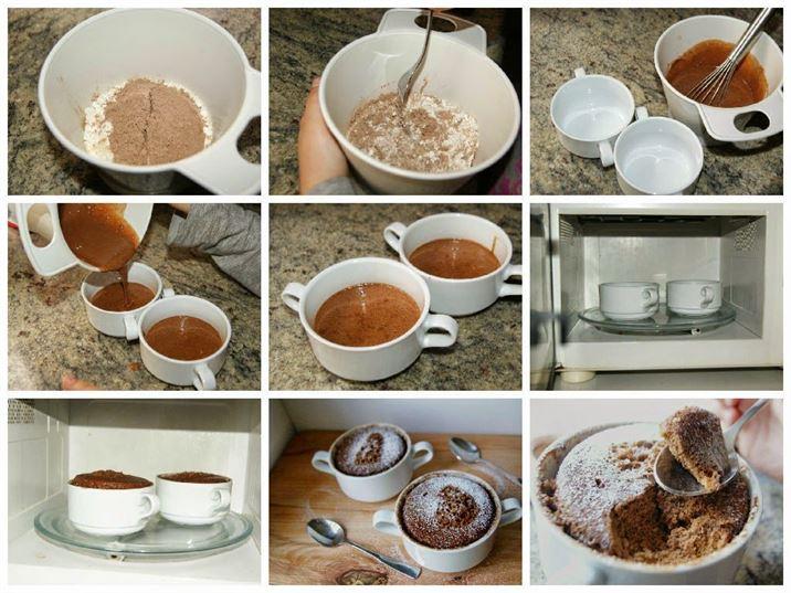 Mug Cake De Cola Cao Bizcocho Fácil En 5 Minutos
