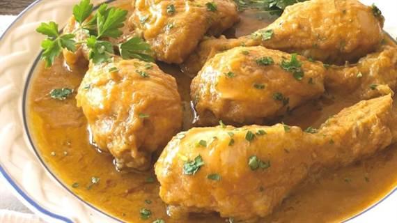 Pollo En Salsa Receta Fácil Rápida Y Riquísima Sin Horno