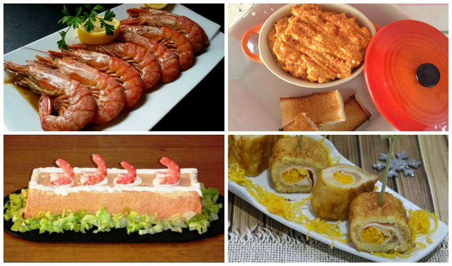 Entrantes primeros platos pescado for Platos para aperitivos
