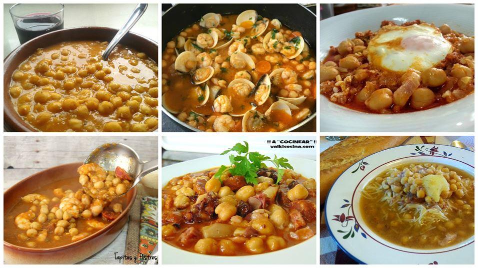 6 recetas de garbanzos y truco para cocinarlos sin remojo - Preparacion de garbanzos cocidos ...