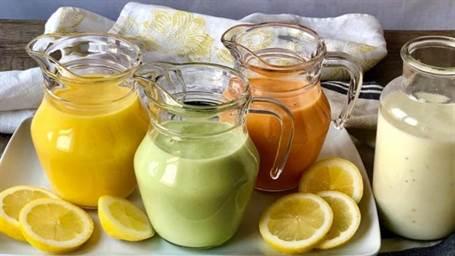 Sopas frías de melón