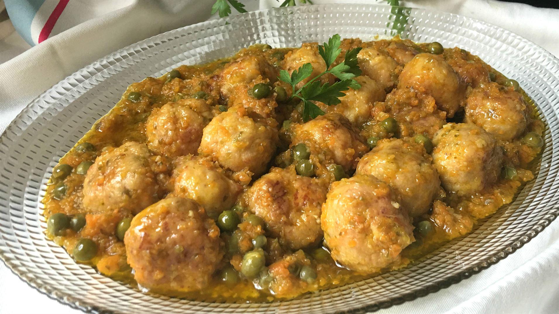 Alb ndigas de pollo con verduras anna recetas f ciles - Albondigas de verdura ...