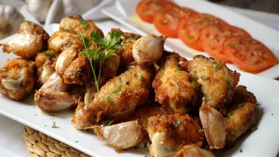 Alitas de pollo al ajillo - Anna Recetas Fáciles