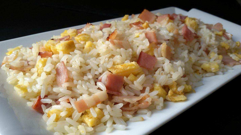 como preparar arroz blanco frito