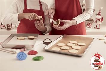 Prepara en familia estas galletas navideñas de Nutella®