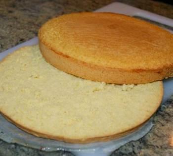 Bizcocho esponjoso b sico anna recetas f ciles for Como hacer bizcocho de yogur esponjoso