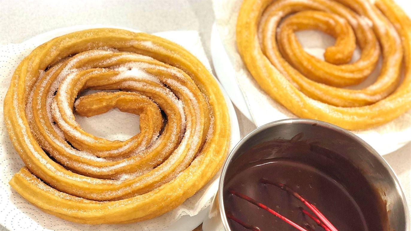 Churros light caseros fáciles