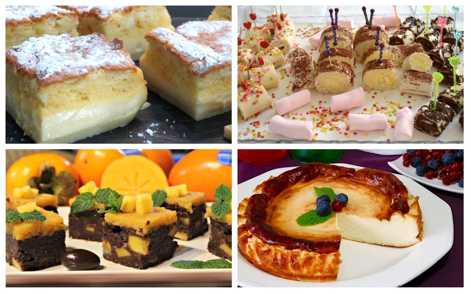 ¿Quieres postres deliciosos estas Navidades?