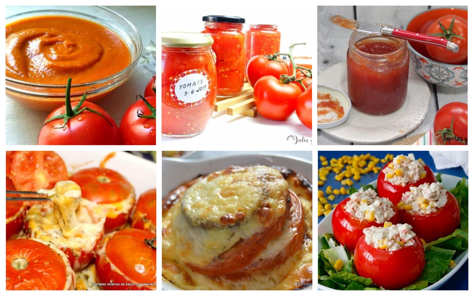 6 recetas con tomate para aprovecharlos al máximo
