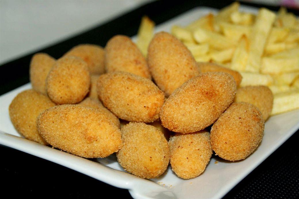 Croquetas de pollo asado anna recetas f ciles - Platos de pollo faciles ...