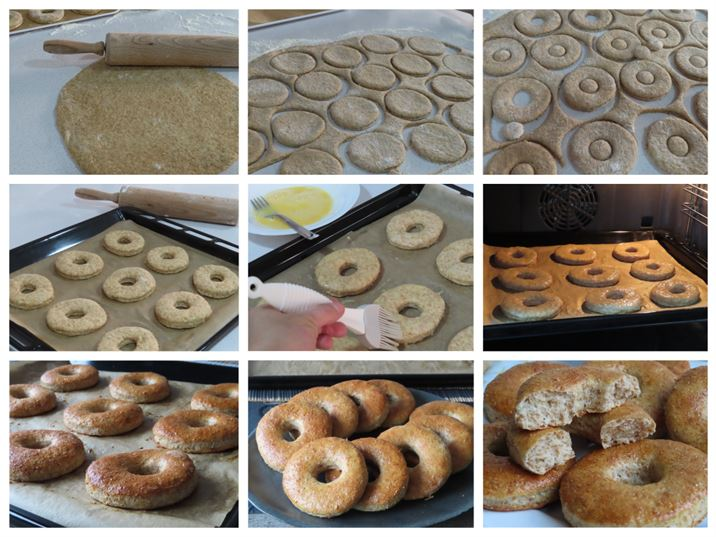 Donuts integrales al horno