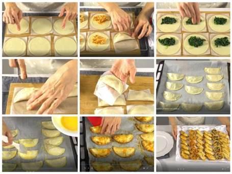 Empanadillas cláscas paso a paso