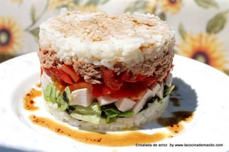 10 recetas de ensaladas refrescantes anna recetas f ciles - Ensalada de arroz light ...