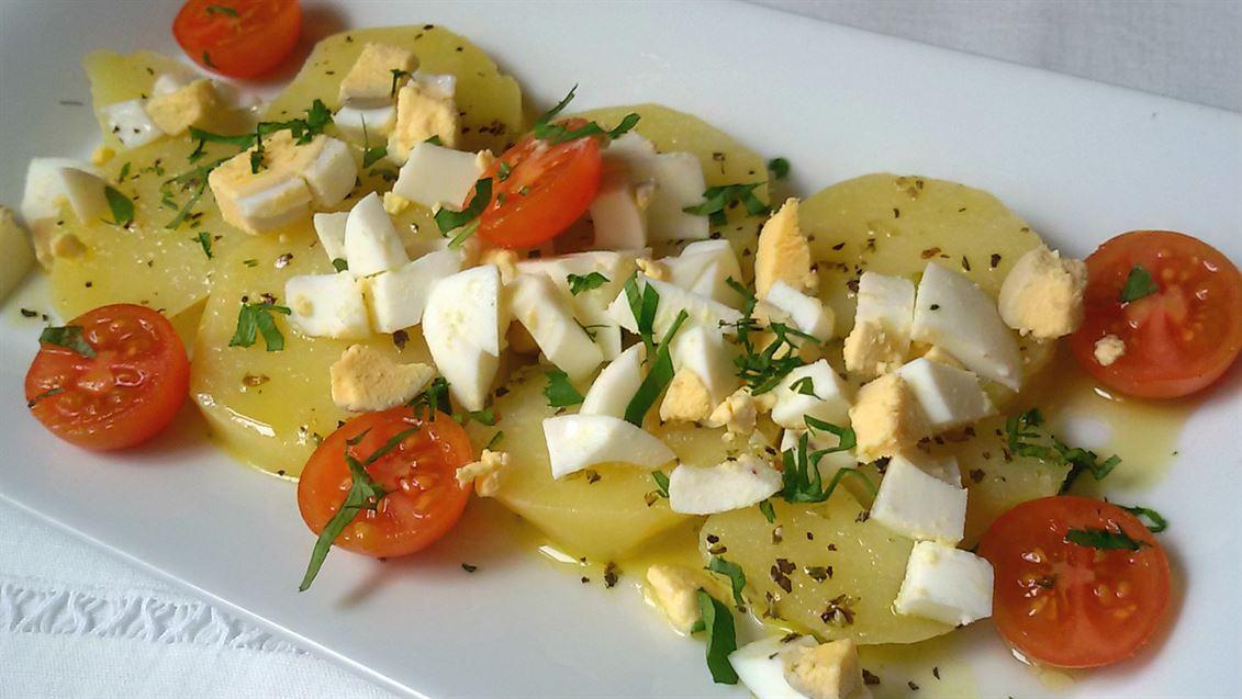 receta ensalada patatas