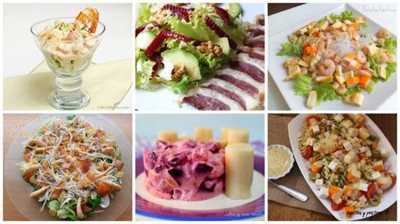 Ensaladas para elegant listo para comer ensaladas for Cenas frias ligeras