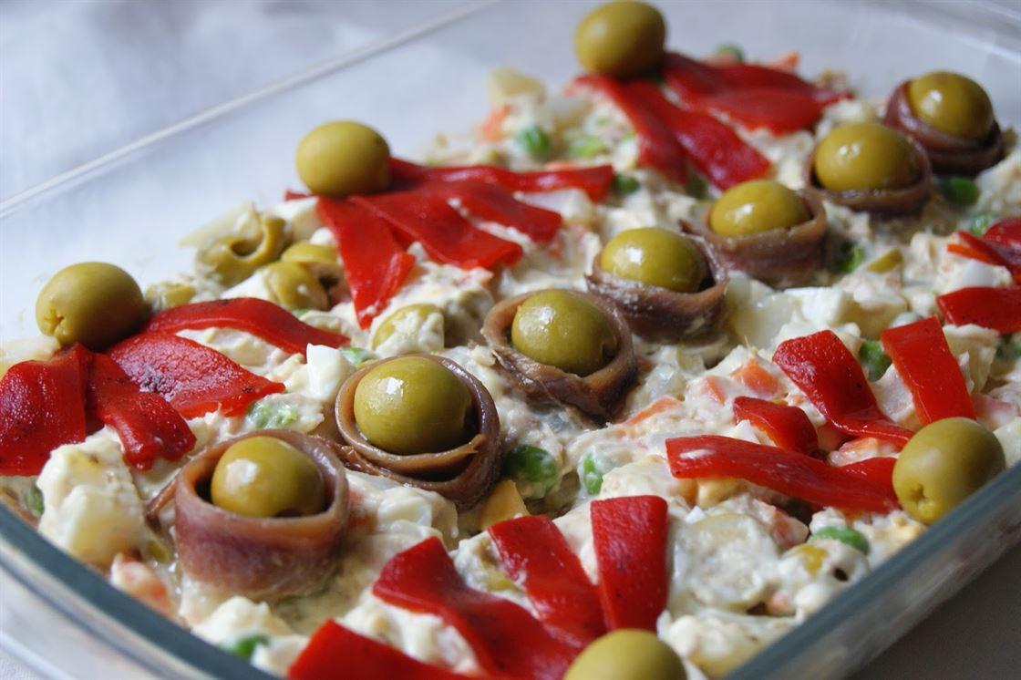 Cocina Rusa Recetas | Ensaladilla Rusa Anna Recetas Faciles