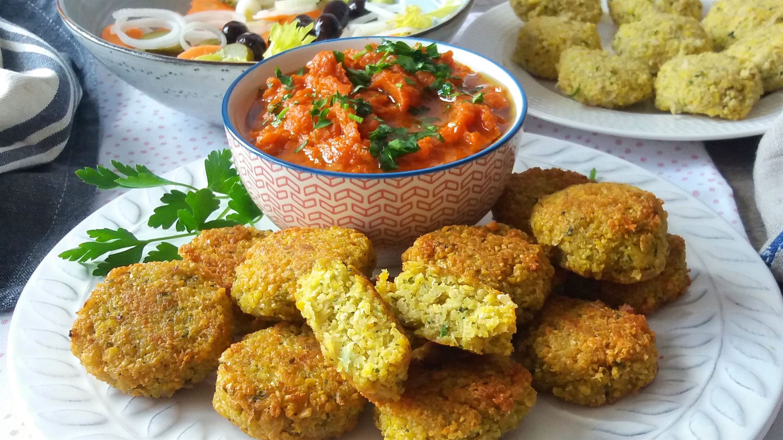 Falafel (receta vegana)