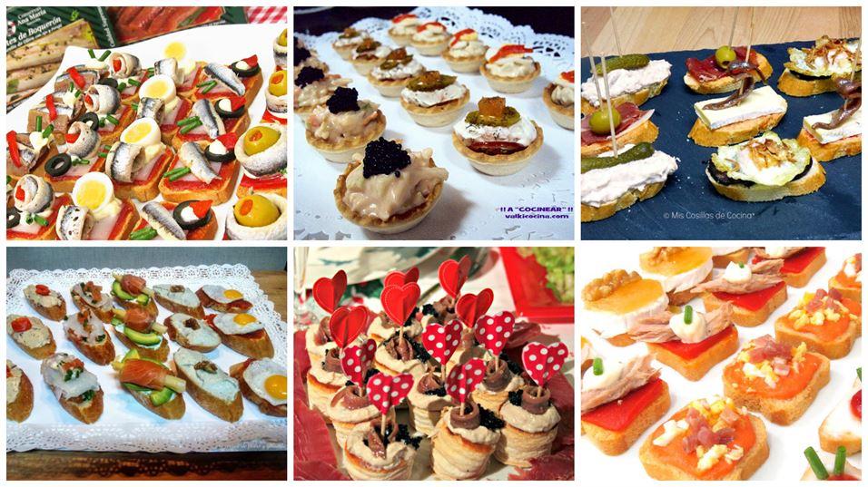 Canap s r pidos para fiestas anna recetas f ciles for Canapes recetas faciles y economicas