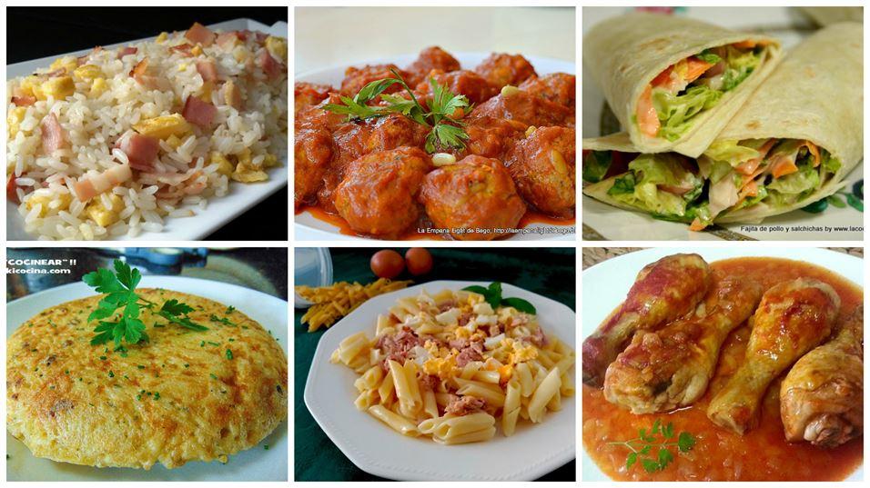 Recetas para llevar en el t per anna recetas f ciles for Taper de comida