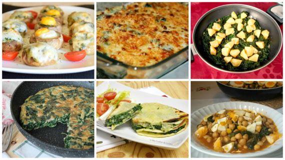 recetas con espinacas fciles y ricas