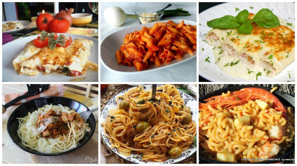 Recetas de pasta para diario, fáciles y deliciosas