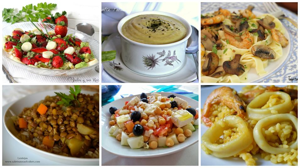 Recetas de primeros platos en menos de 30 minutos