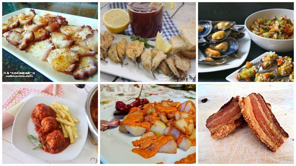 6 recetas de tapas t picas de nuestros bares anna for Tapas faciles y buenas