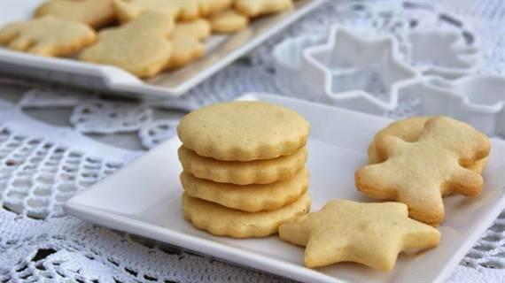 Galletas de mantequilla clásicas