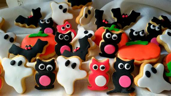Galletas monstruosas de Halloween