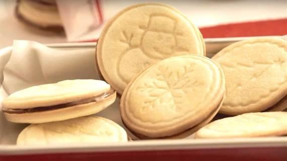 galletas navideñas de nutella especial aperitivos y postres