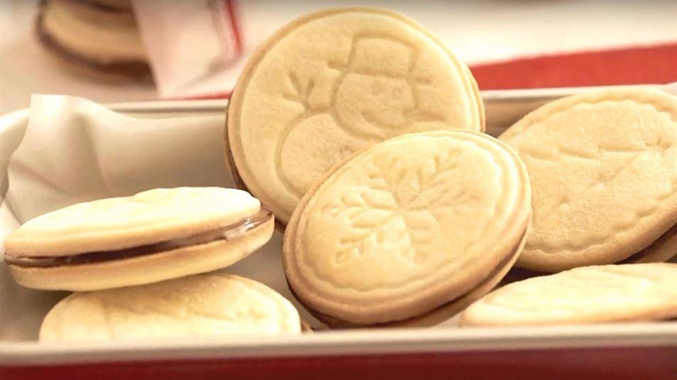 Galletas navideñas de Nutella®