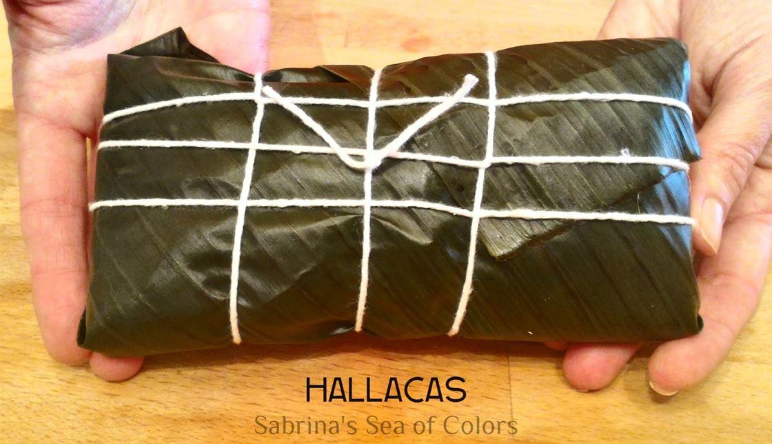 Hallacas tradicionales venezolanas