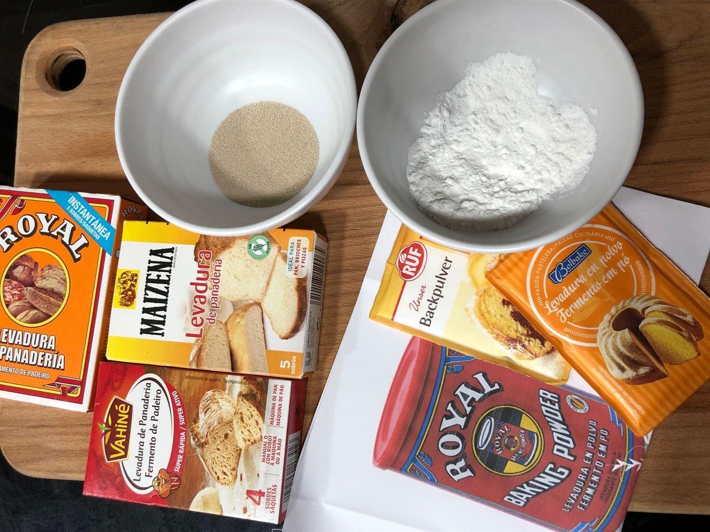 ¿Dónde comprar levadura de panadero y levadura química?