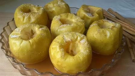 manzanas asadas al horno receta fácil