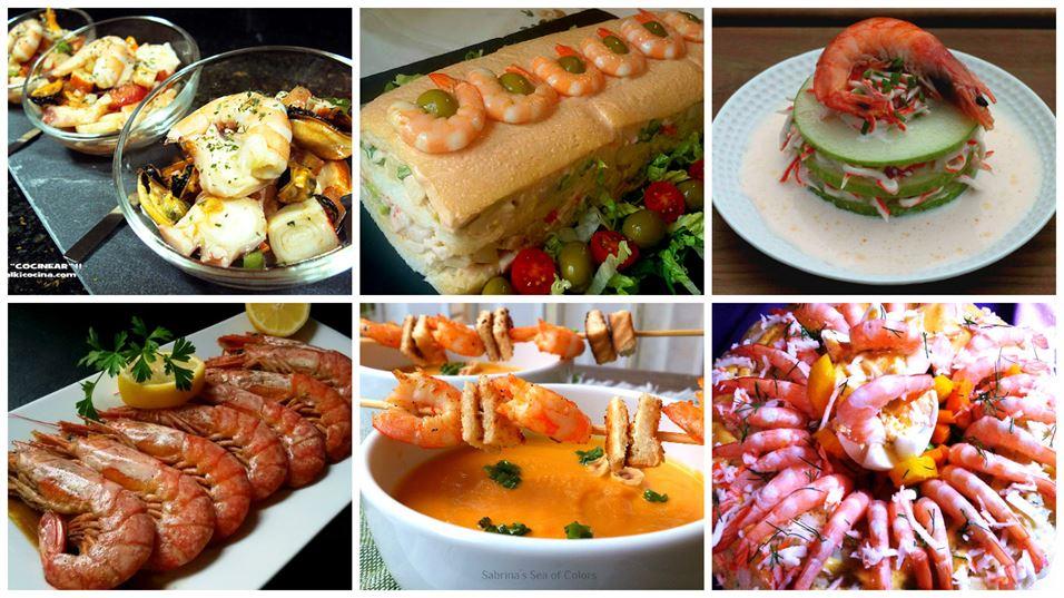 6 recetas de marisco para celebraciones