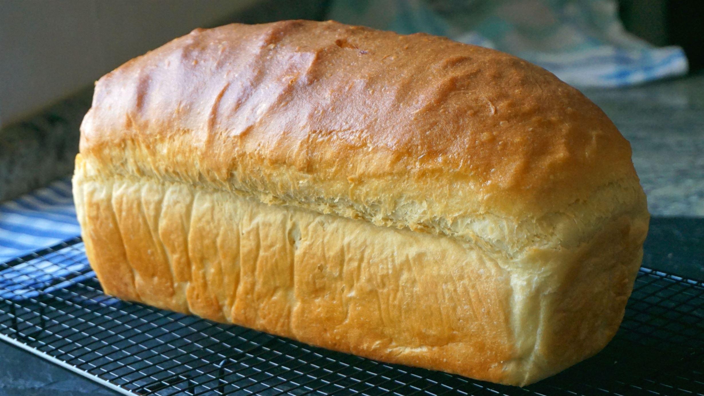 Pan de molde fácil con harina común (pan lactal)