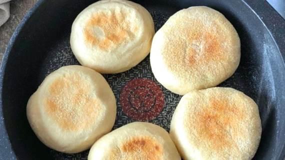 Pan hecho a la sartén. Receta paso a paso SIN HORNO