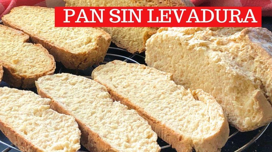 PAN SIN LEVADURA y sin amasar en 30 minutos – Pan de soda