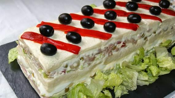receta de pan de molde con atun y mayonesa