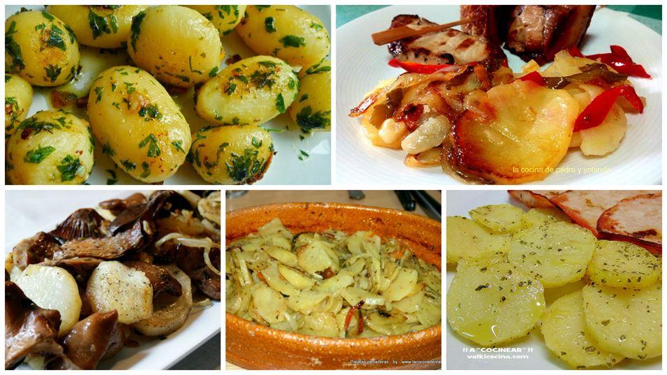 5 recetas de guarniciones con patatas