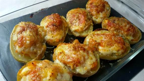 Patatas rellenas de at n anna recetas f ciles for Tapas originales para sorprender