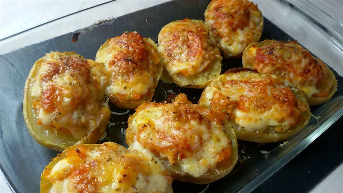 Patatas rellenas de at n anna recetas f ciles for Platos faciles de cocinar