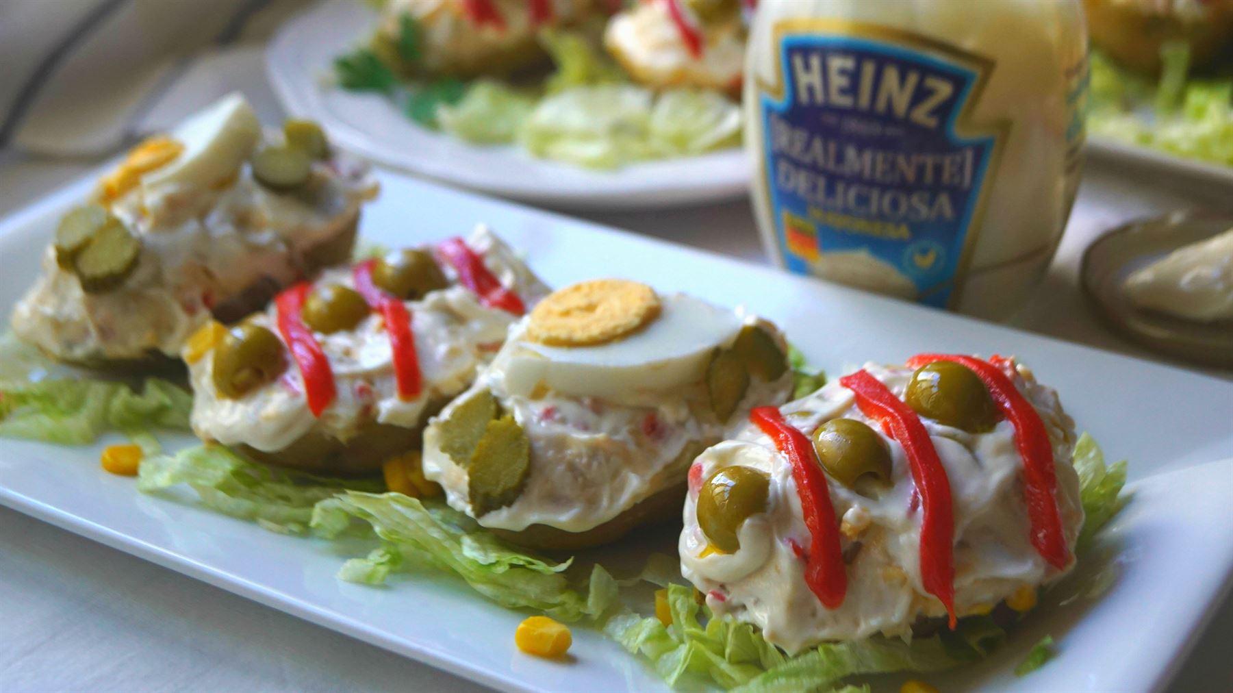 Patatas rellenas de ensaladilla anna recetas f ciles for Platos faciles de cocinar