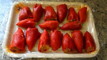 Pimientos rellenos de carne anna recetas f ciles - Film para cocinar ...