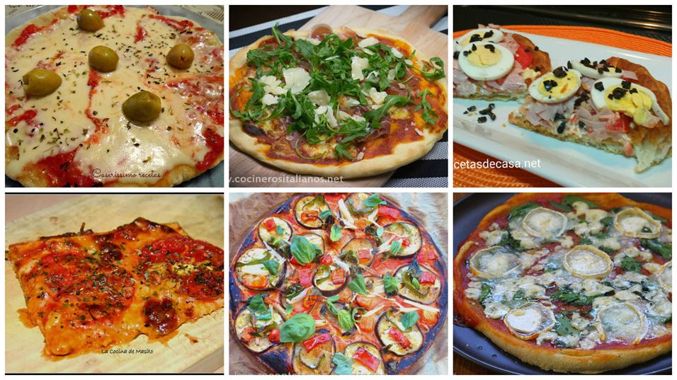 Pizzas irresistibles para triunfar