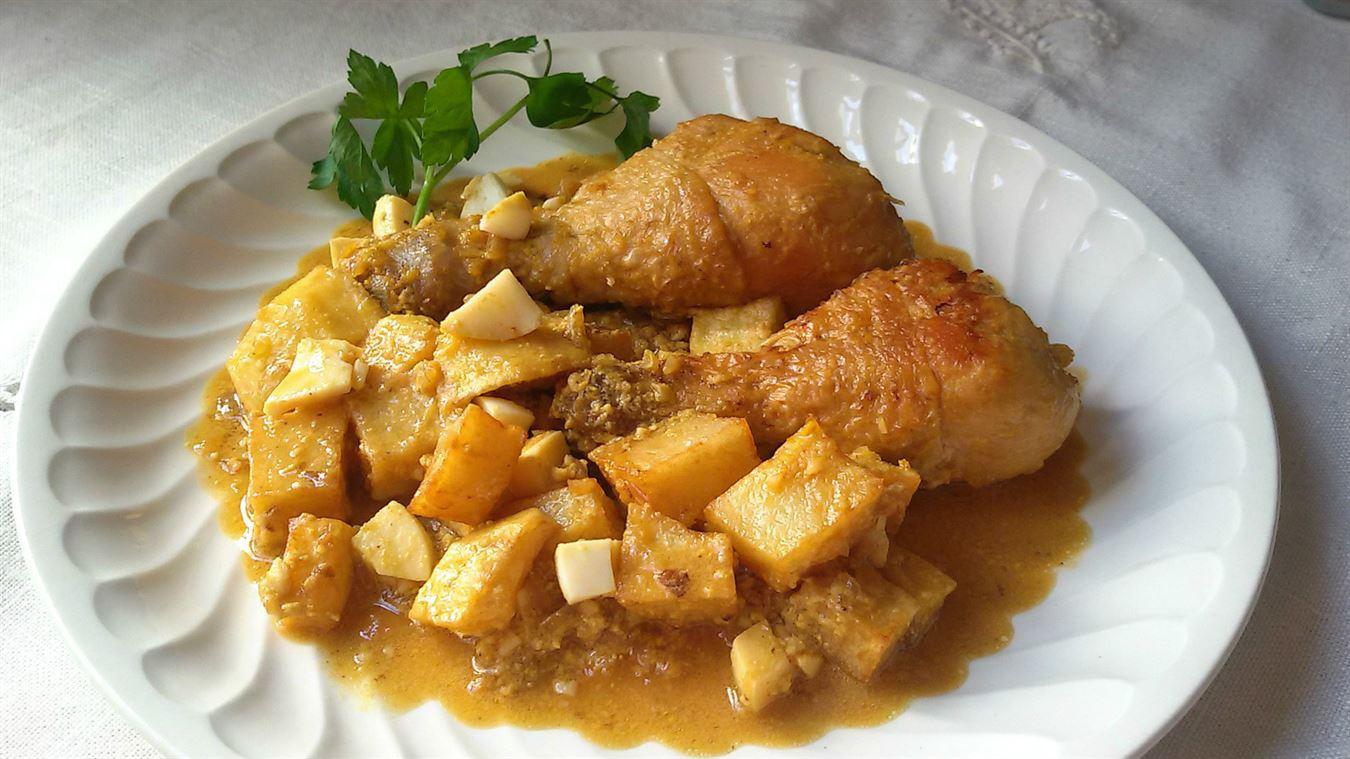 recetas con pollo y huevo