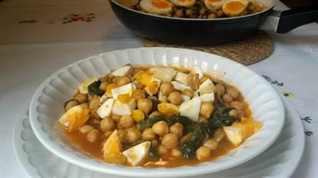 6 recetas de legumbres anna recetas f ciles - Bacalao con garbanzos y patatas ...